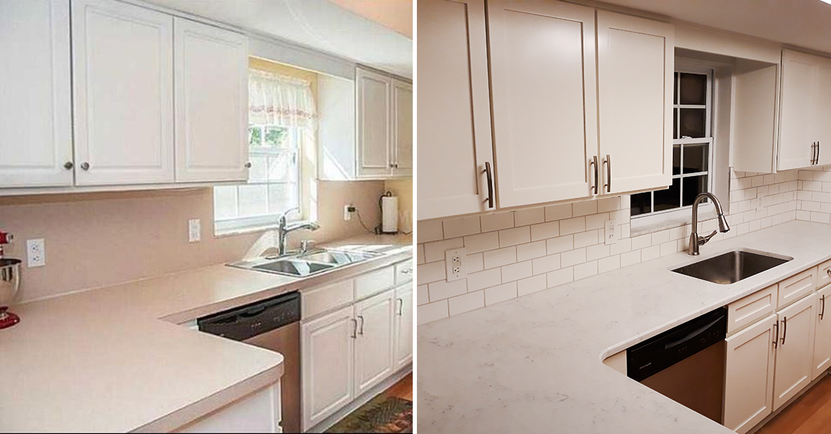 Cabinet Refacing Process And Cost Compared To Cabinet Painting