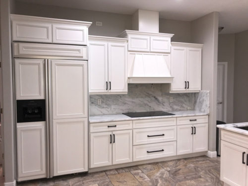 White Painted Kitchen Cabinets in Sarasota