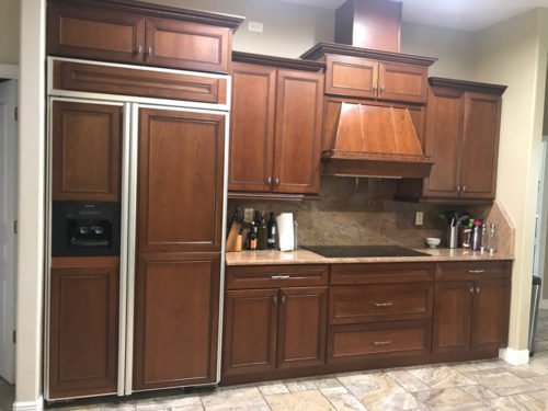 Stained Wood Kitchen Cabinets Sarasota
